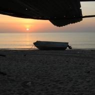 Sunrise over Biranybirany's beach
